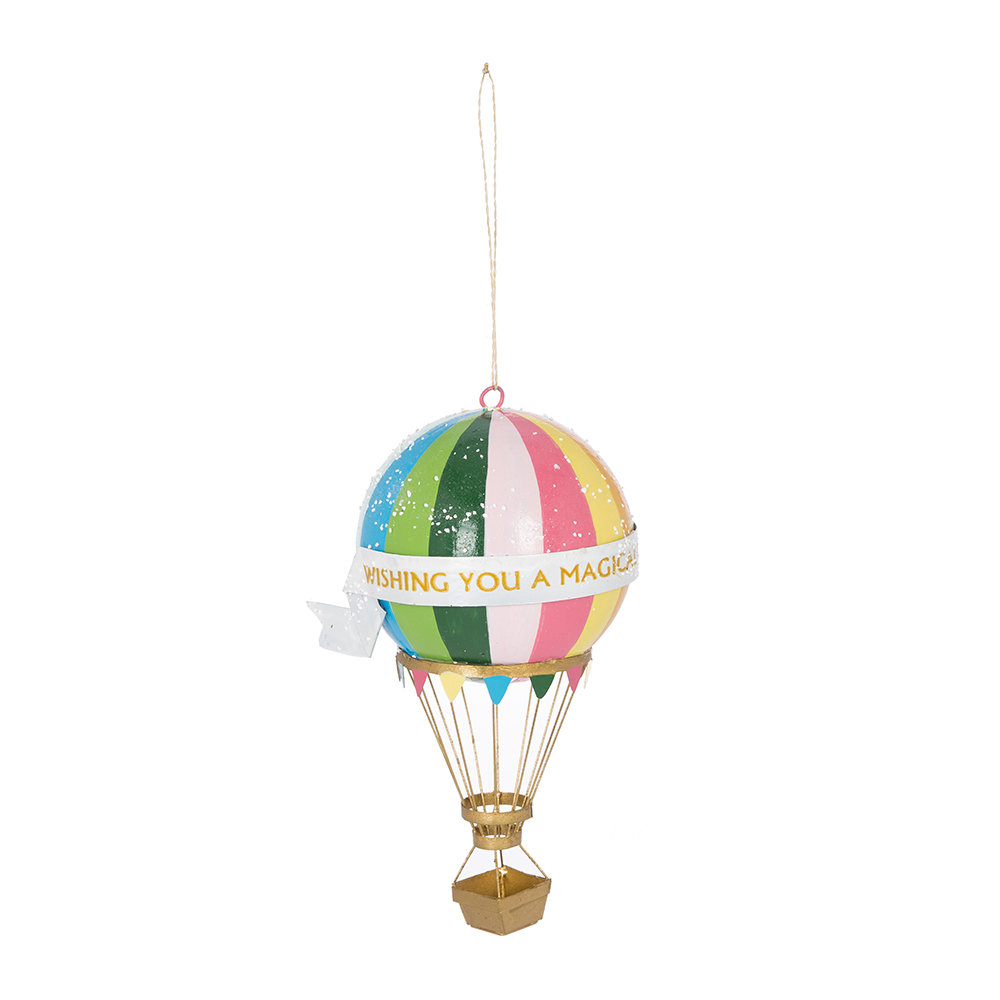 Cody Foster  Co - Hot Air Balloon Tree Decoration
