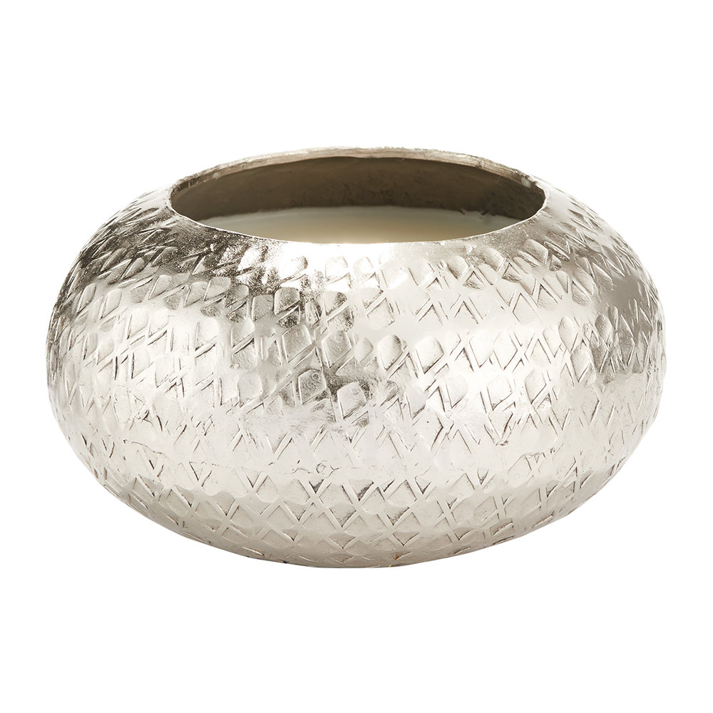 Illume - Demi Textured Metal Scented Candle - 200g - Balsam  Cedar