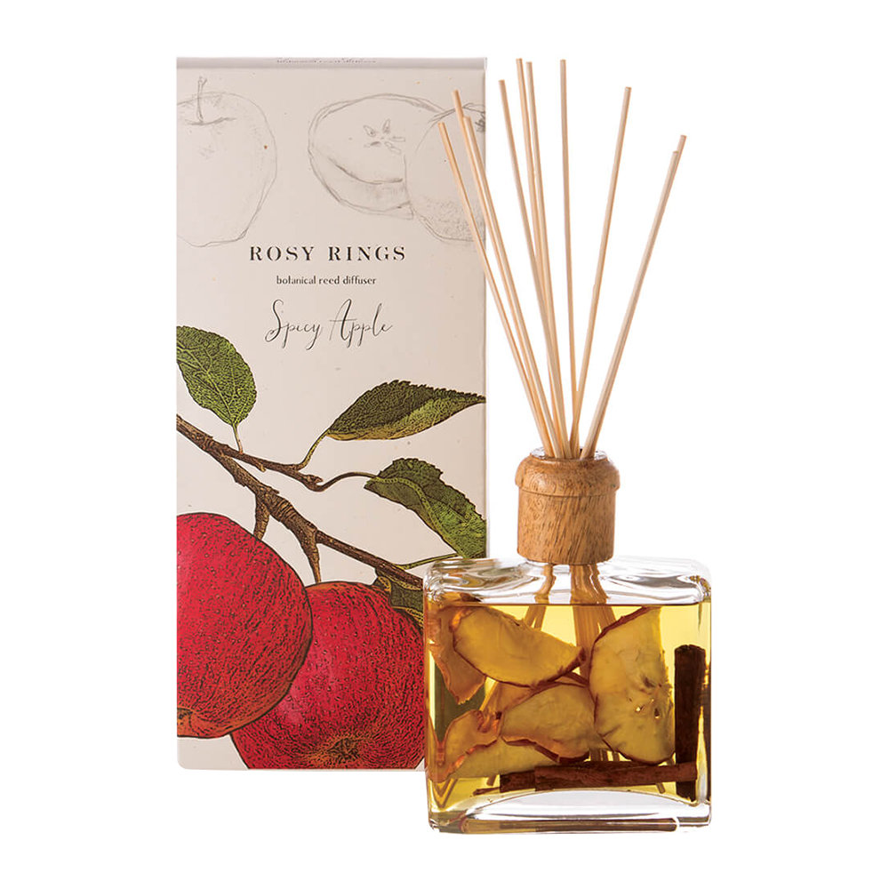 Rosy Rings - Botanical Reed Diffuser - Spicy Apple