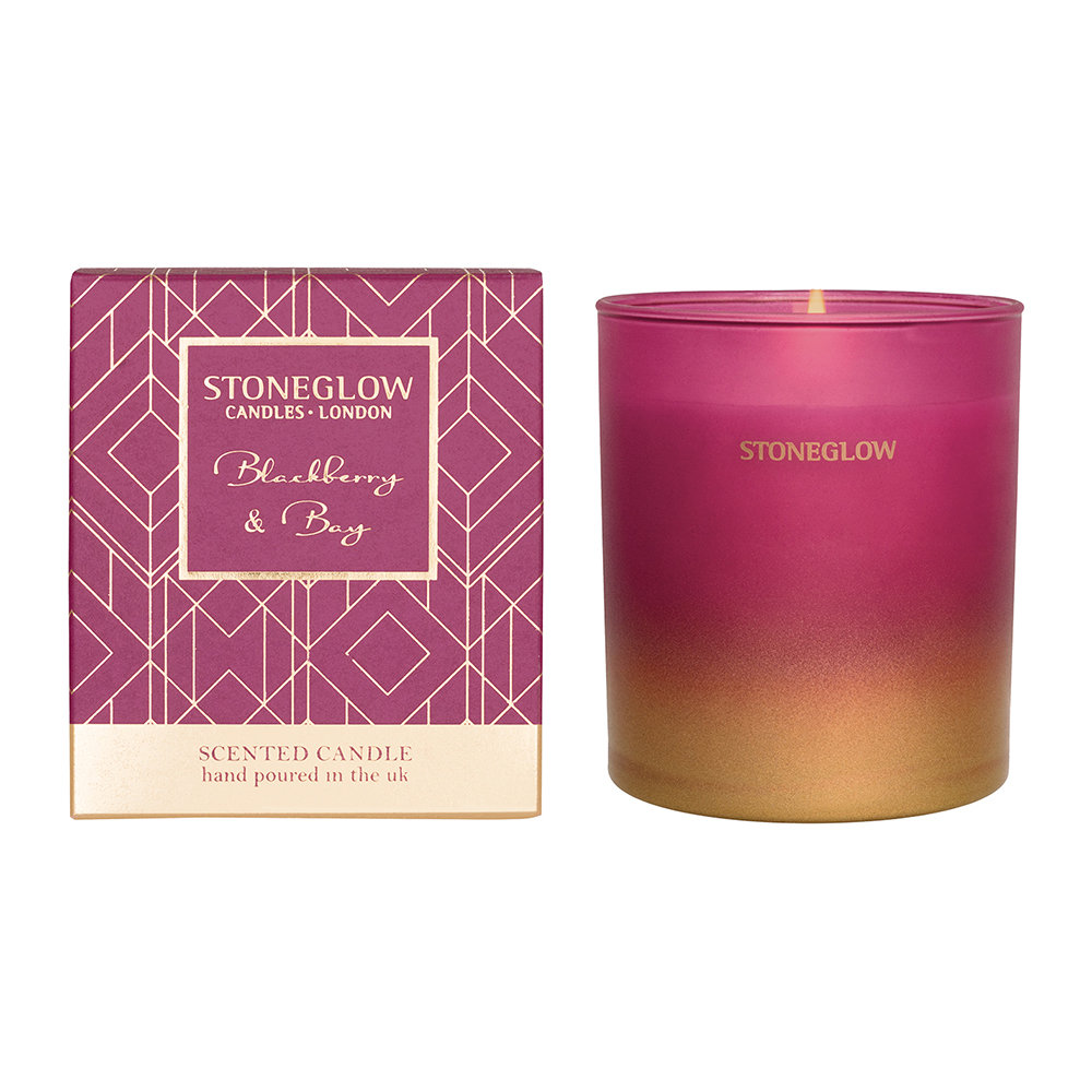 Stoneglow - Blackberry  Bay Tumbler Scented Candle