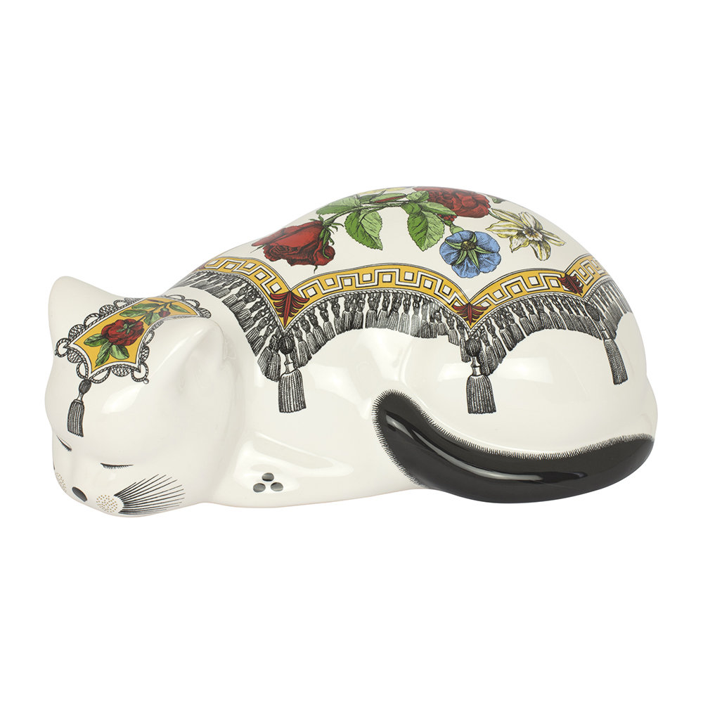 Fornasetti - Cloaked Cat Ornament