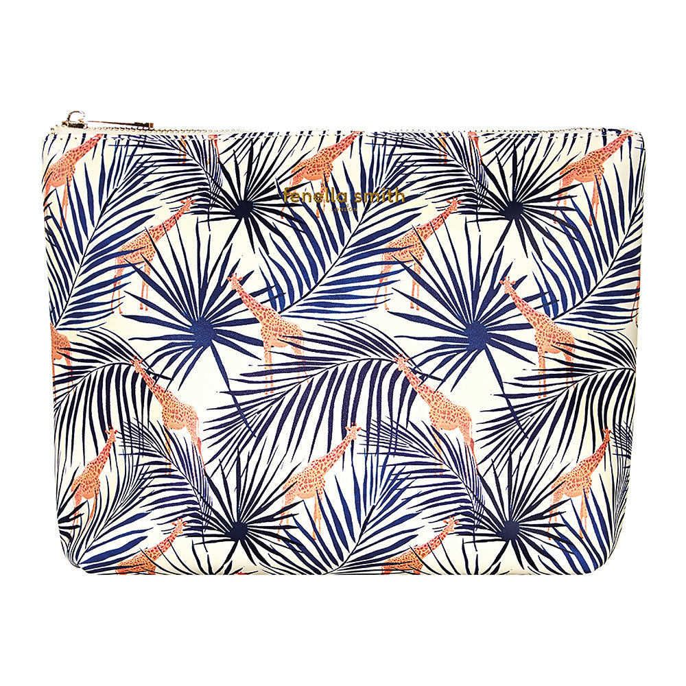 Fenella Smith - Giraffe  Palm Box Washbag