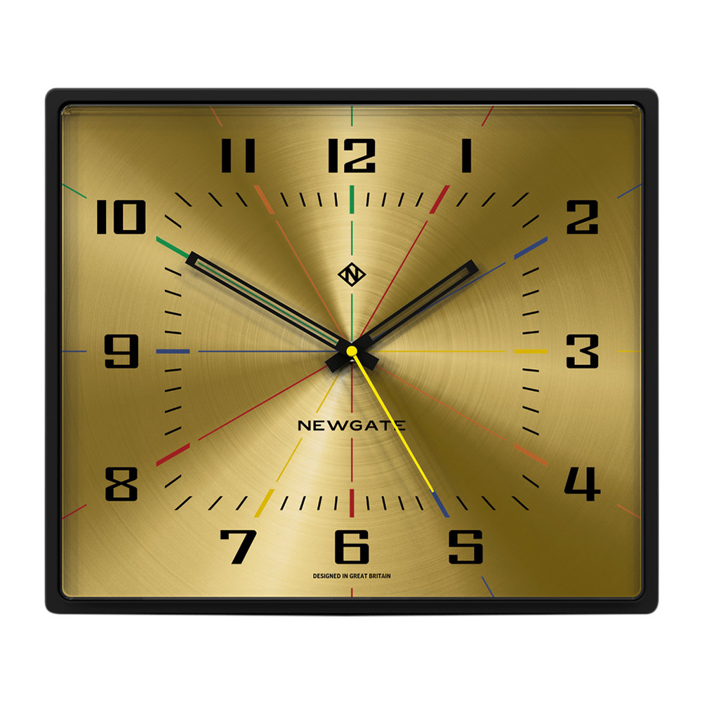 Newgate Clocks - Box Office Clock - Gold