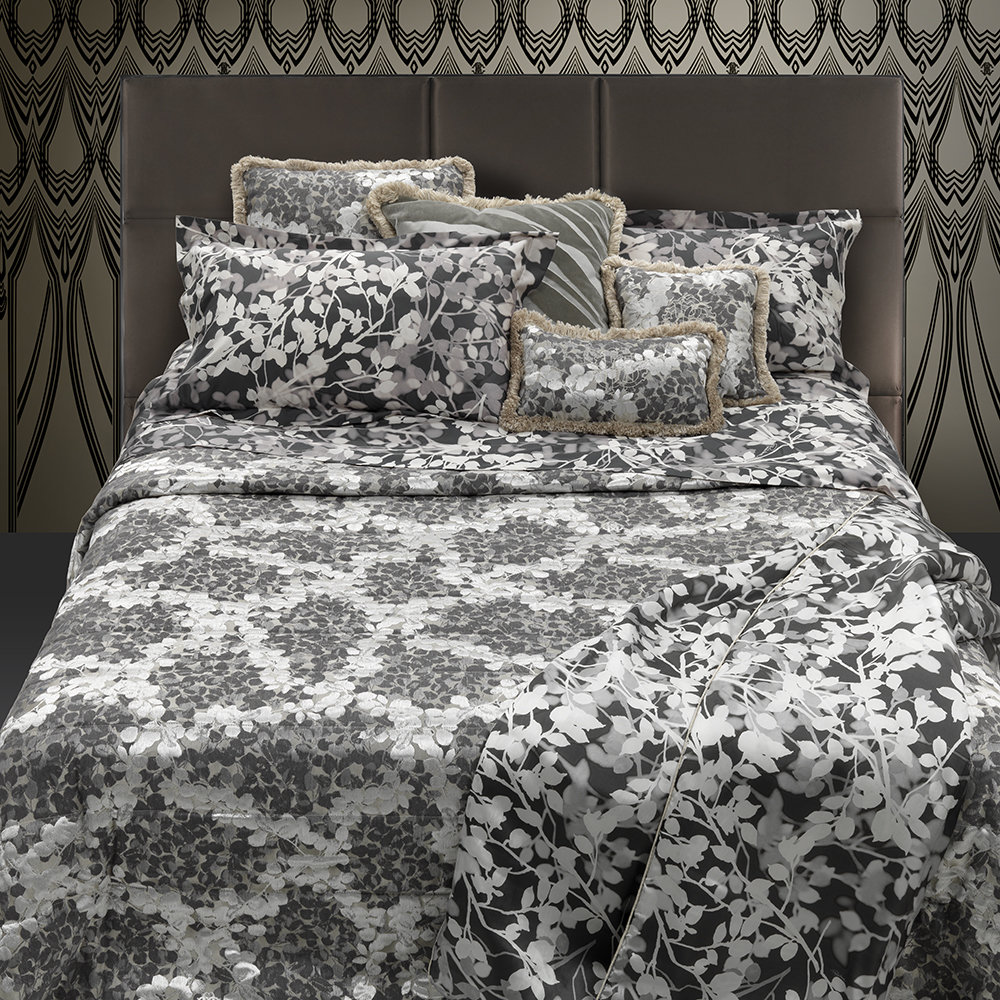 Roberto Cavalli - Canopy Bed Set - Grey - Super King