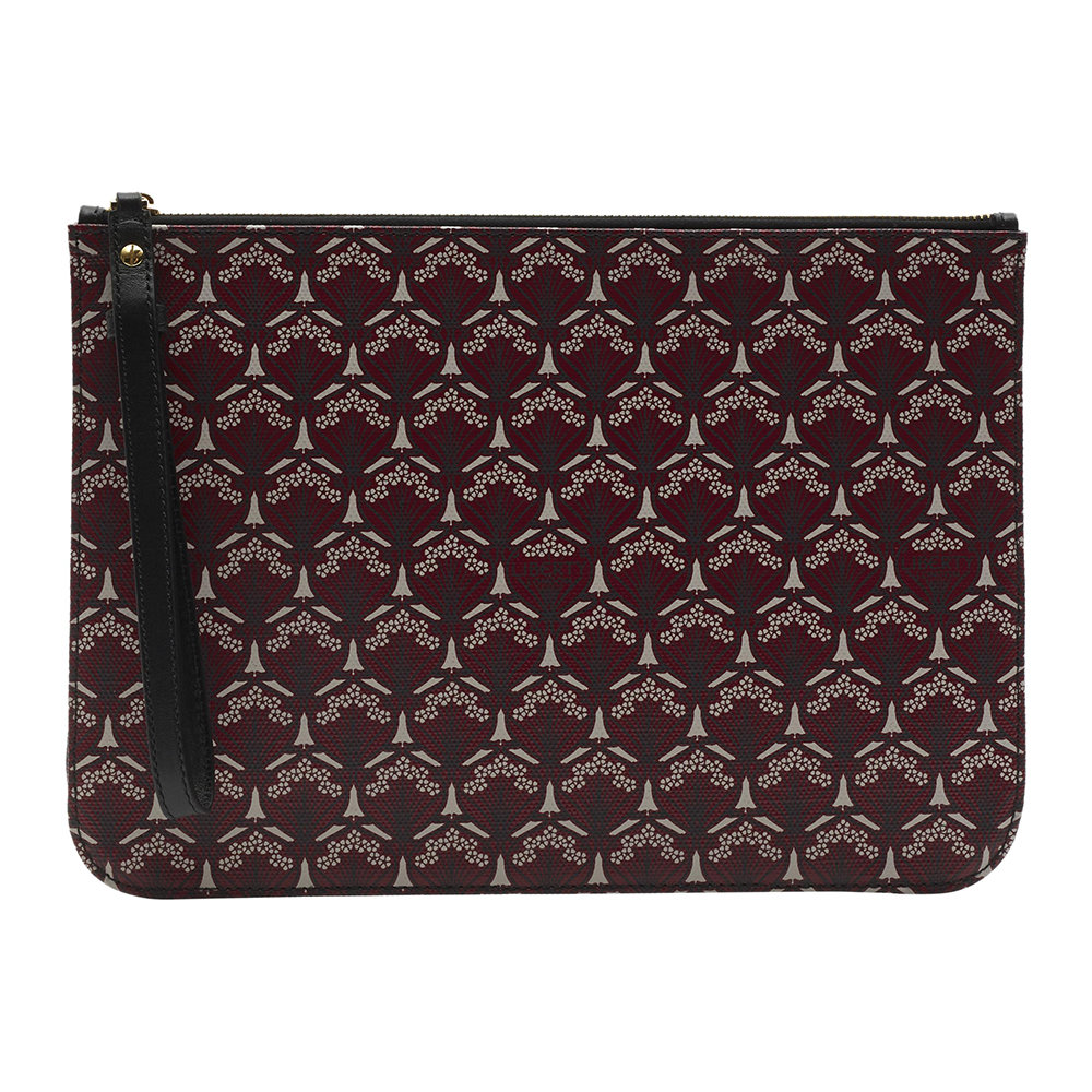 Liberty London - Iphis Pouch 30 - Oxblood
