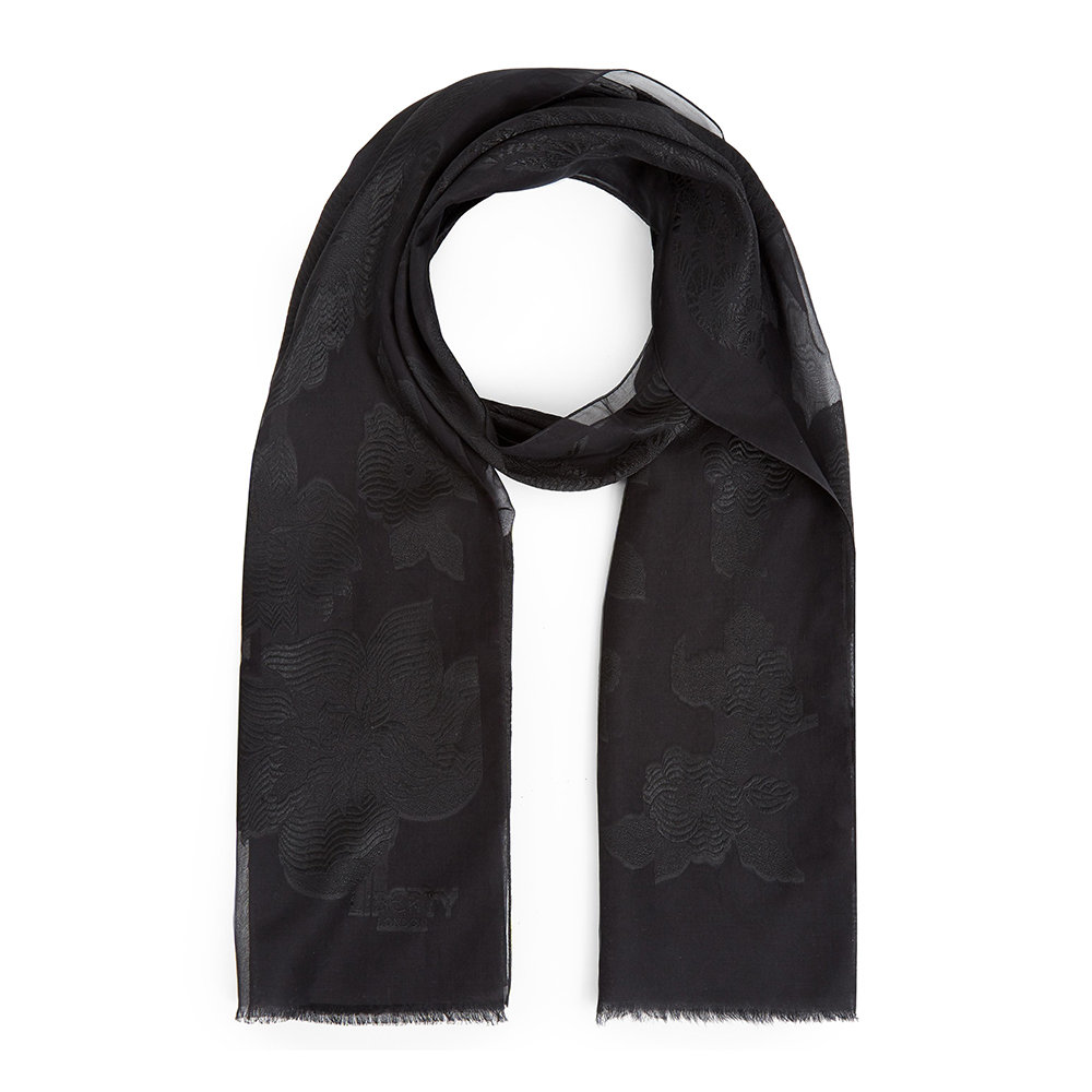 Liberty London - Honor Scarf - Black