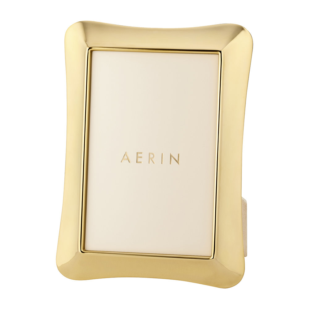 AERIN - Cecile Photo Frame - Gold - 4x6""