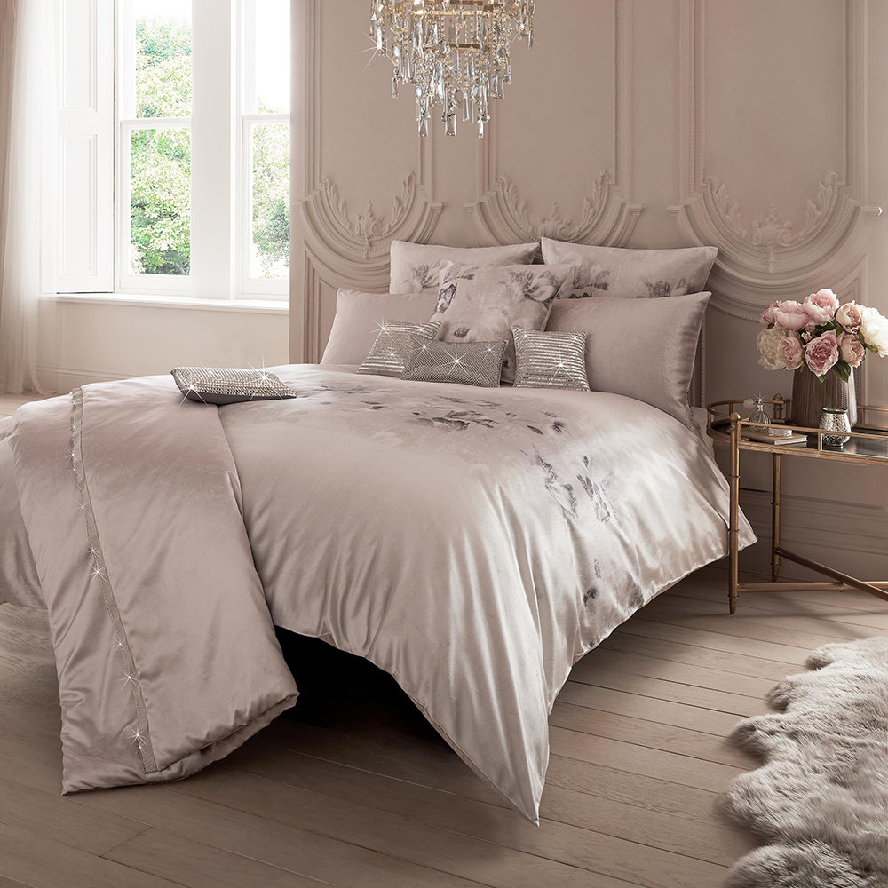 Buy Kylie Minogue At Home Luciana Duvet Cover Blush