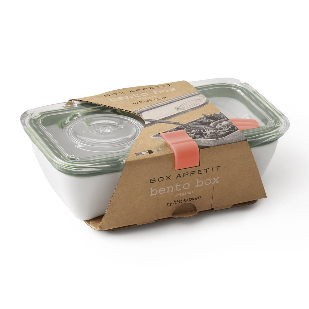 black + blum - Bento Lunch Box with Fork - Olive