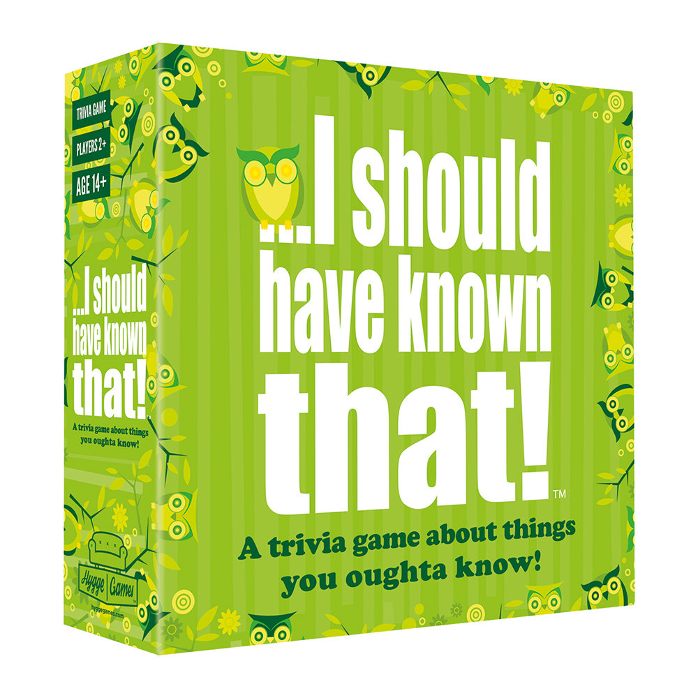 Hygge Games - I Should Have Known That Game