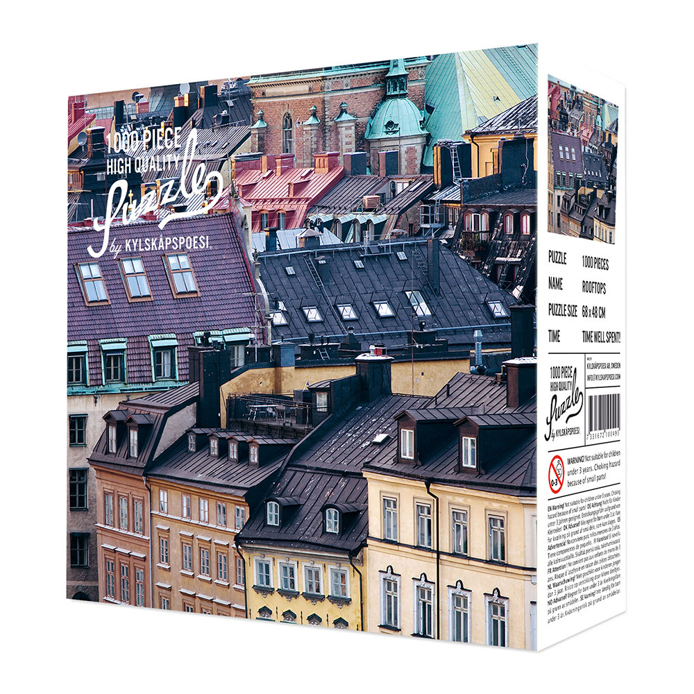 Hygge Games - Rooftops Puzzle