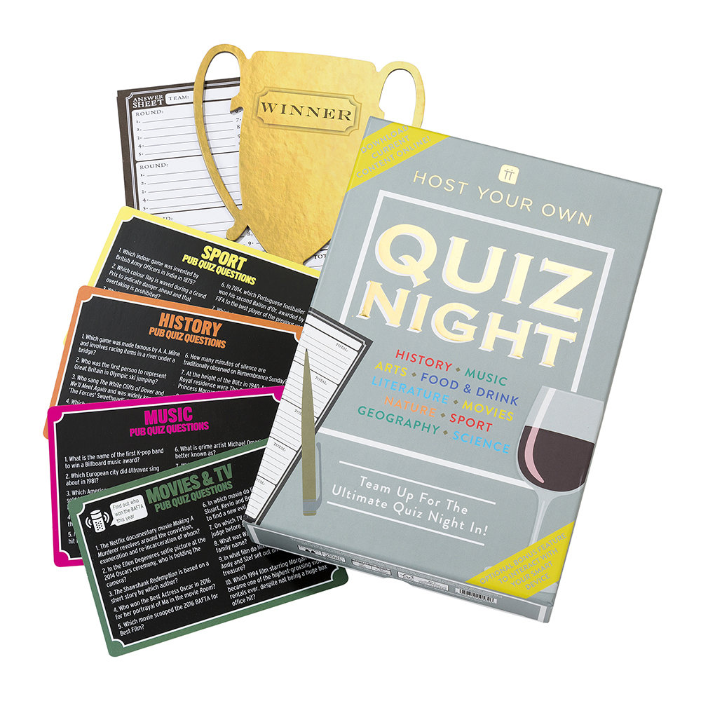 Talking Tables - Host Your Own Quiz Night
