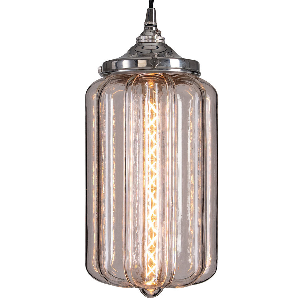 Old School Electric - Ellington Clear Ceiling Light