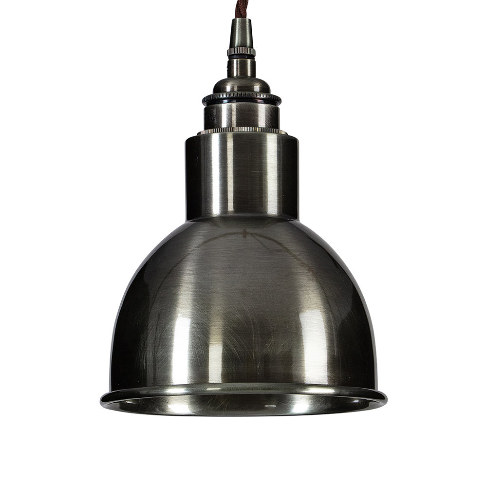 Old School Electric - Churchill Pendant Ceiling Light - Antique Nickel