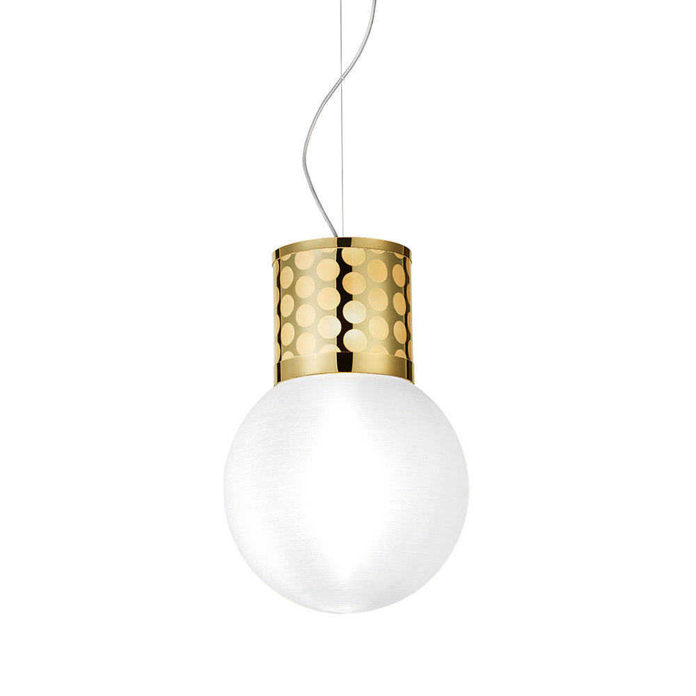 Slamp - Atmosfera Suspension Ceiling Light - Gold