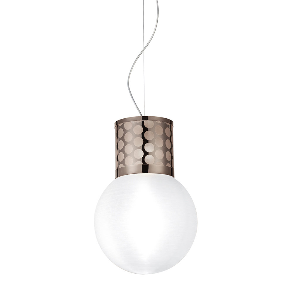Slamp - Atmosfera Suspension Ceiling Light - Pewter