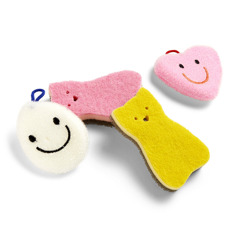 HAY - Character Sponge - Set of 4 - Multi