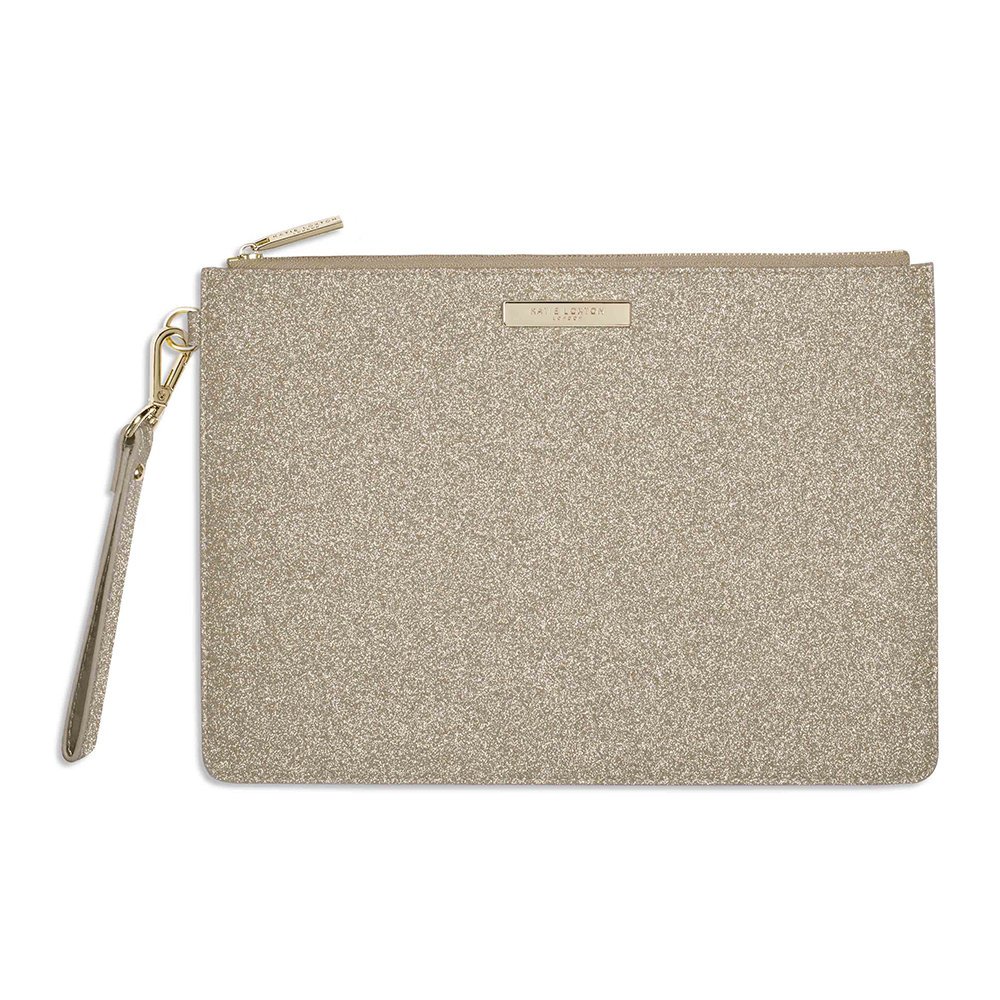 Katie Loxton - Clutch Bag - Sparkly Champagne