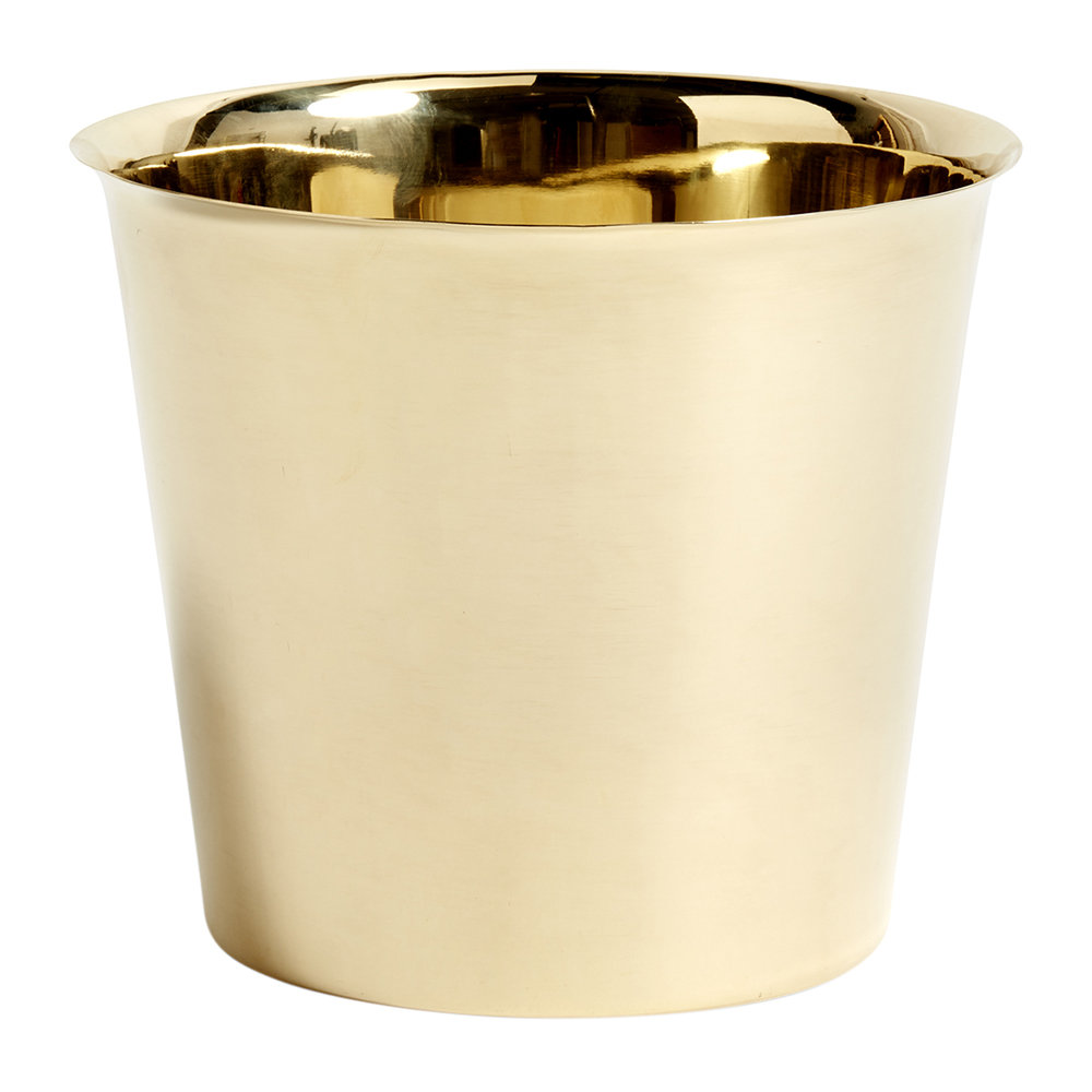 HAY - Botanical Family Pot - Brass - Extra Large