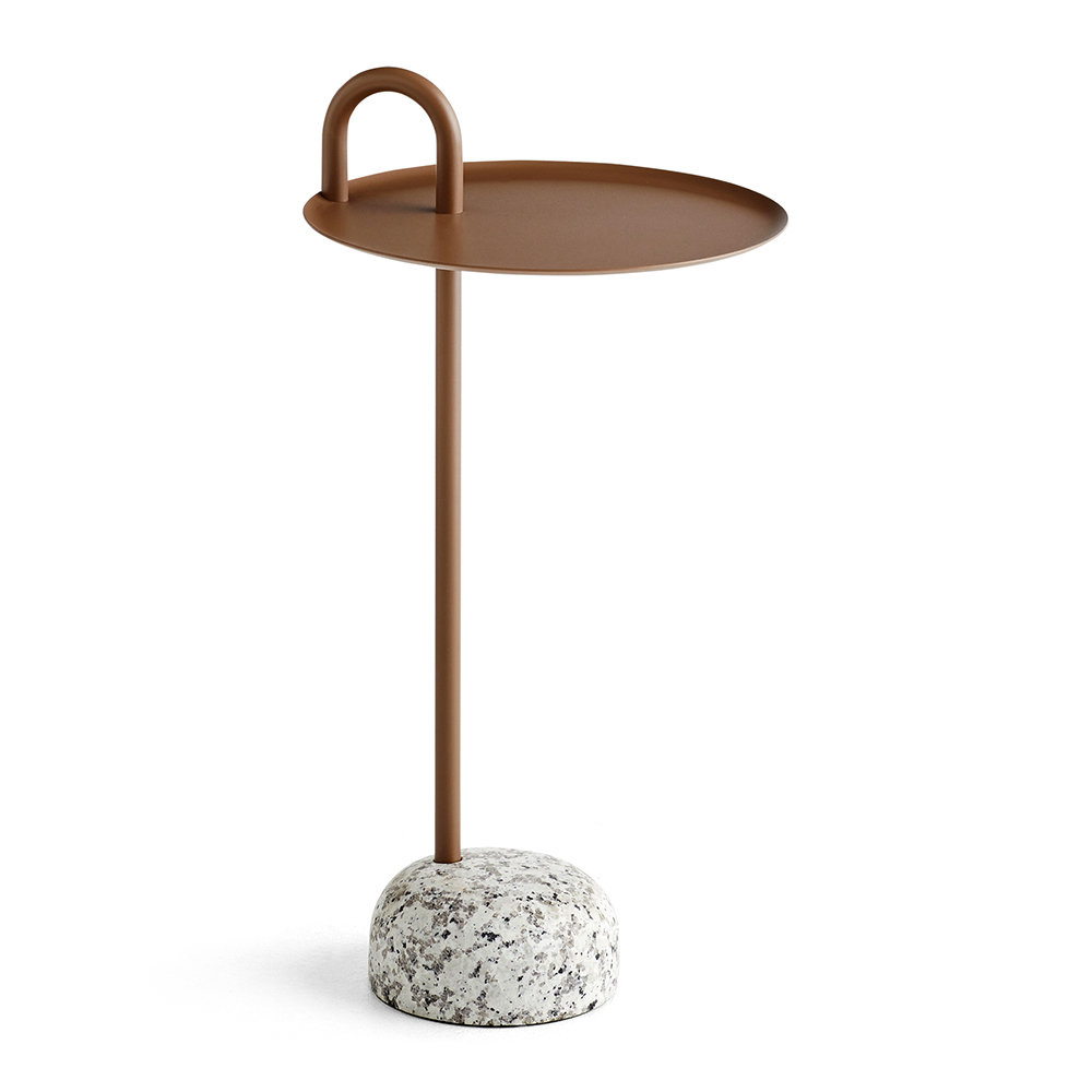 HAY - Bowler Side Table - Pale Brown