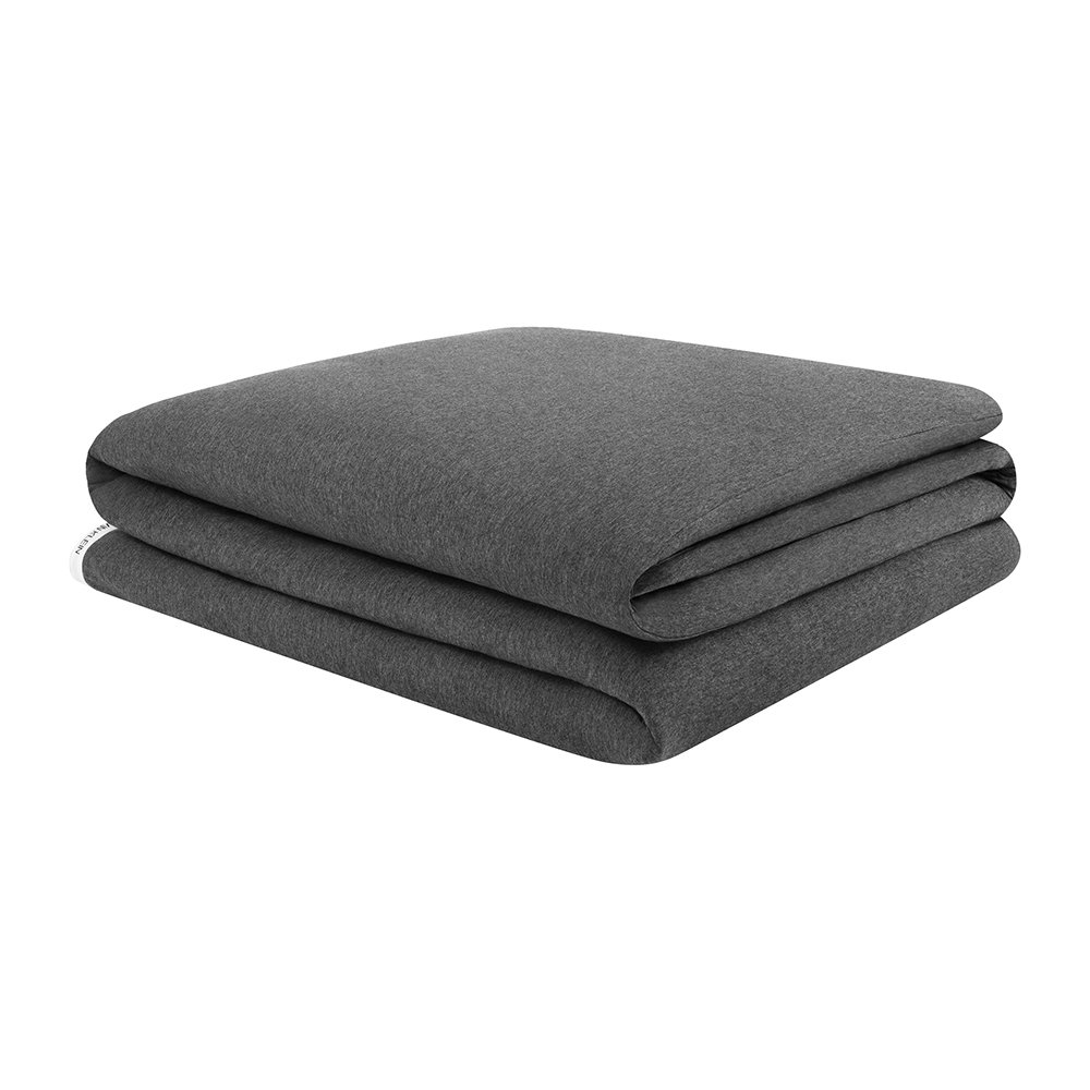 Calvin Klein - Classic Logo Duvet Cover - Heathered Charcoal - Super King
