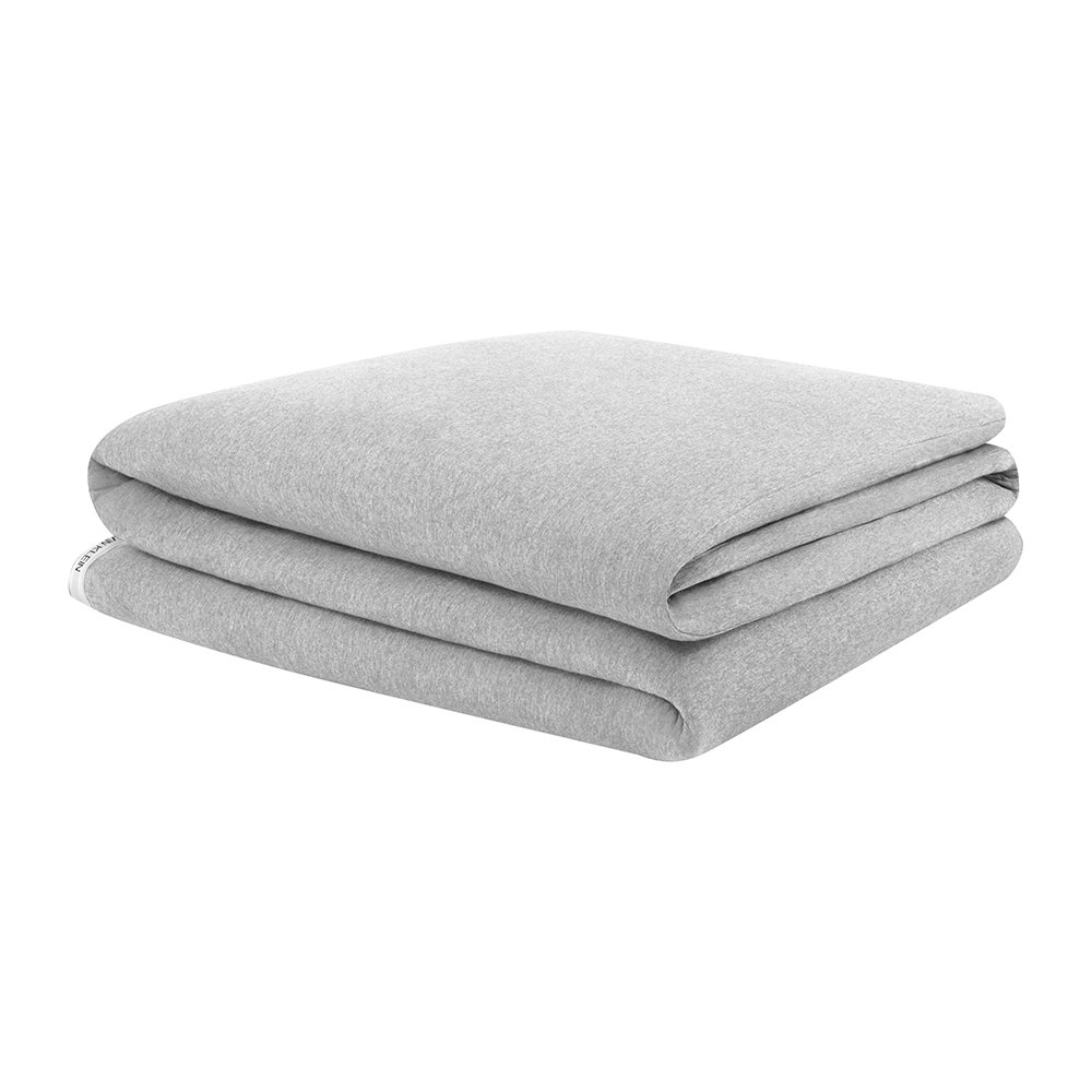 Calvin Klein - Classic Logo Quilt Cover - Heathered Grey - King