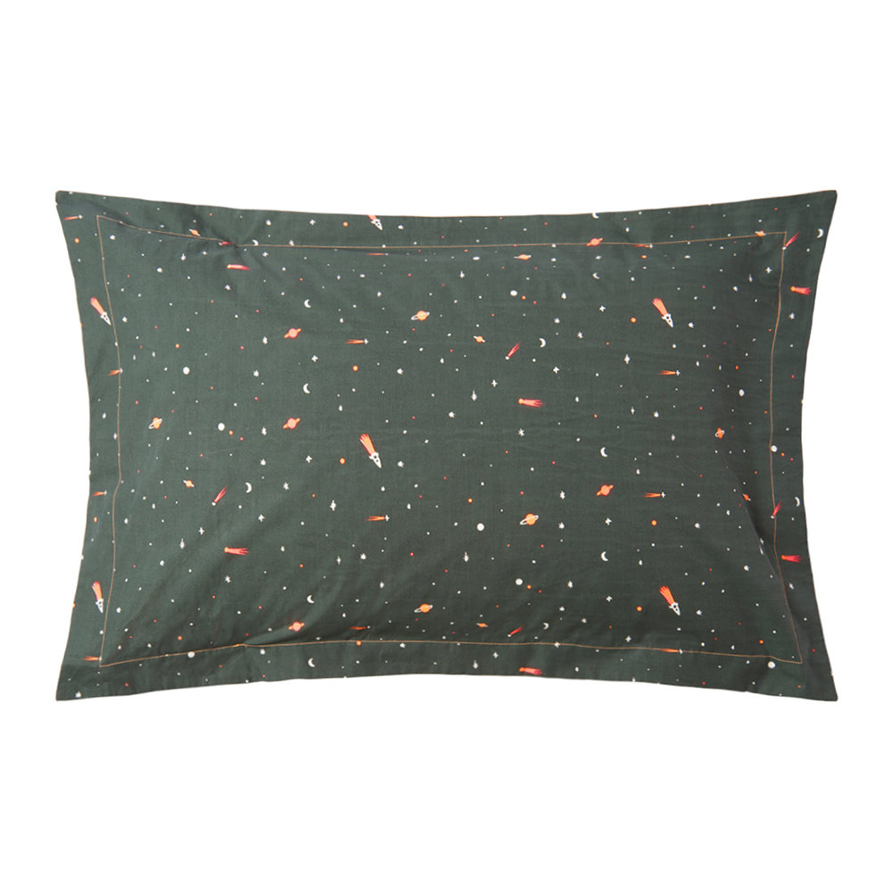 Meri Meri - Children's Pillow Sham - Space