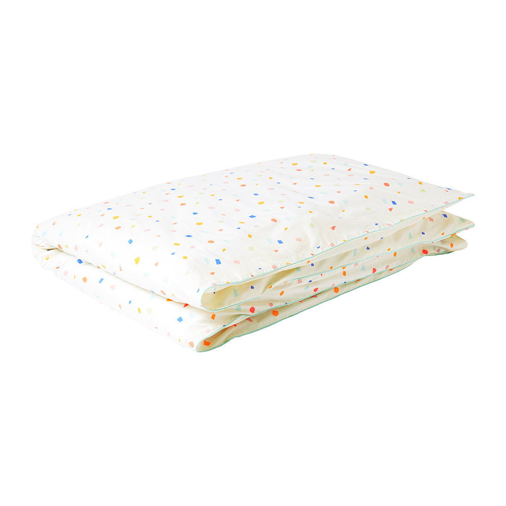 Meri Meri - Children's Printed Duvet Cover - Single - Terrazzo