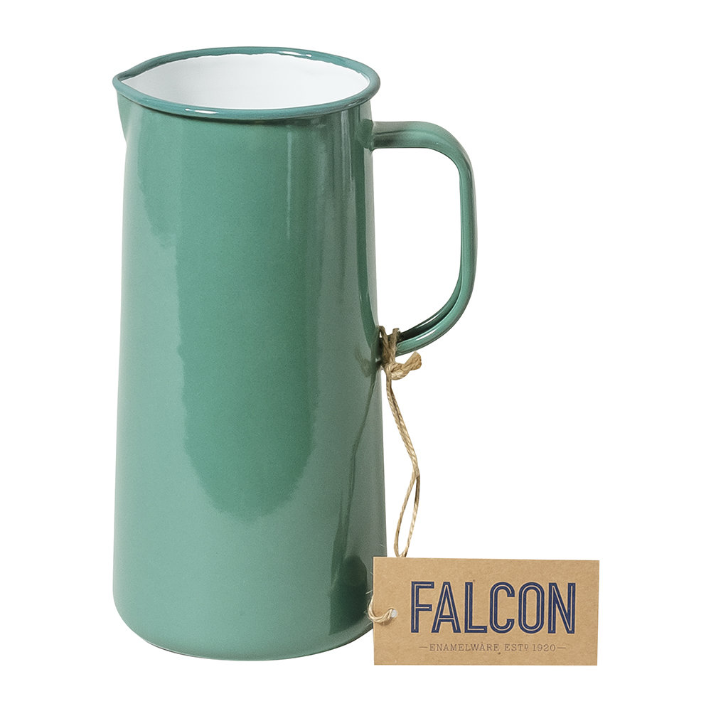 Falcon - Limited Edition Enamel Jug - 3 Pints - Spring Green