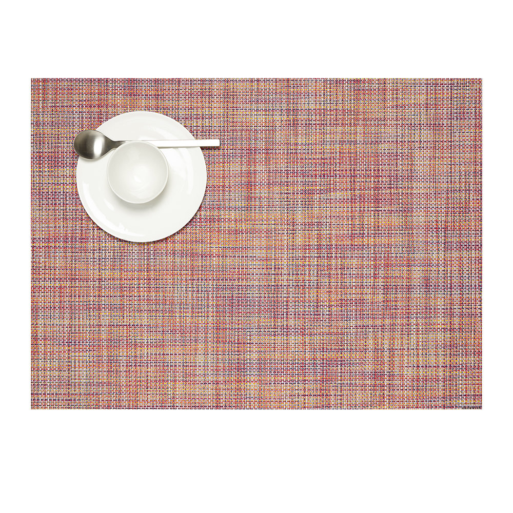 Chilewich - Basketweave Woven Rectangular Placemat - Festival