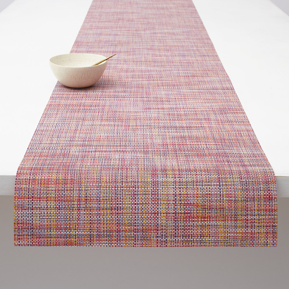 Chilewich - Basketweave Woven Table Runner - Festival