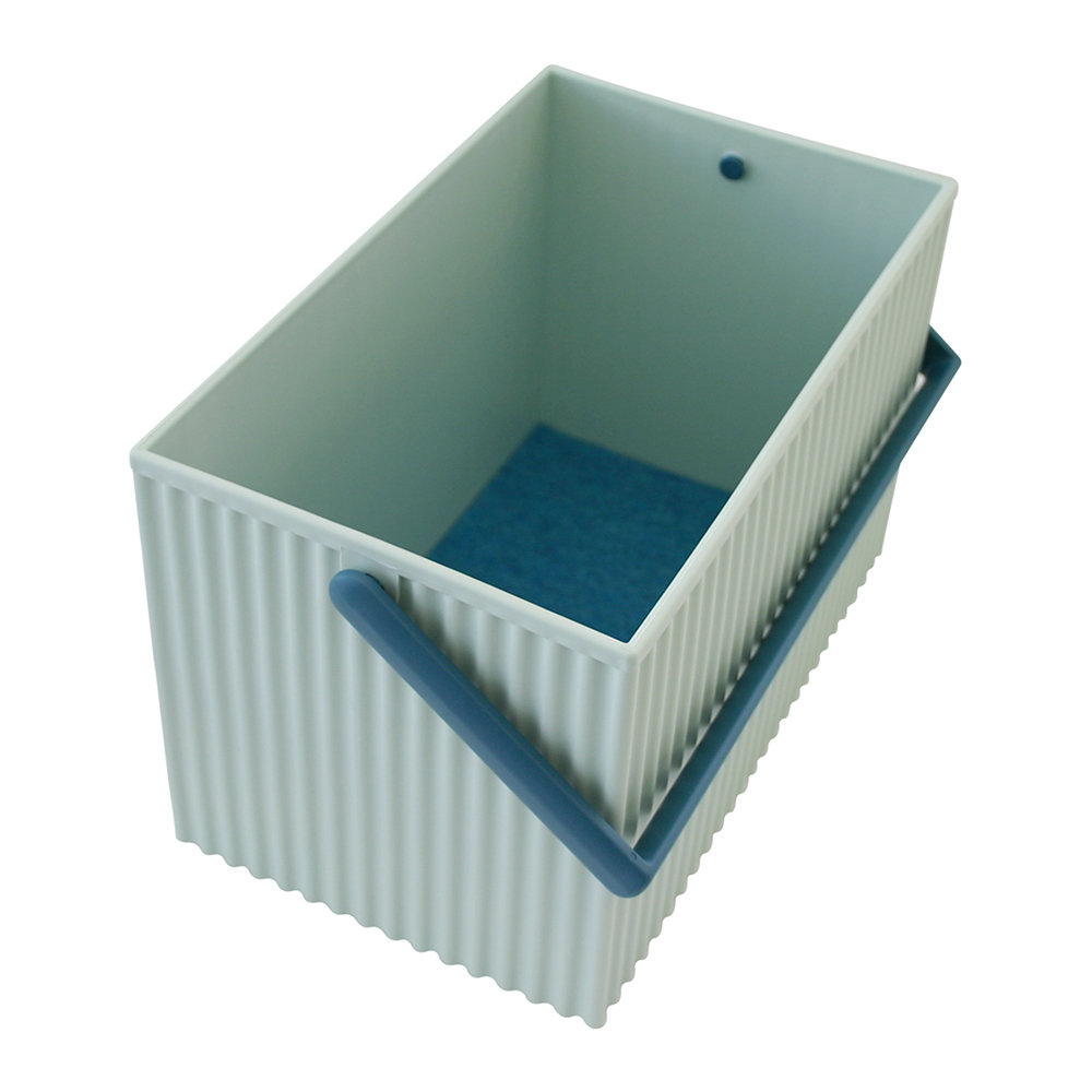 Hachiman - Omnioffre Carry Box with Handle  - Light Blue - Medium