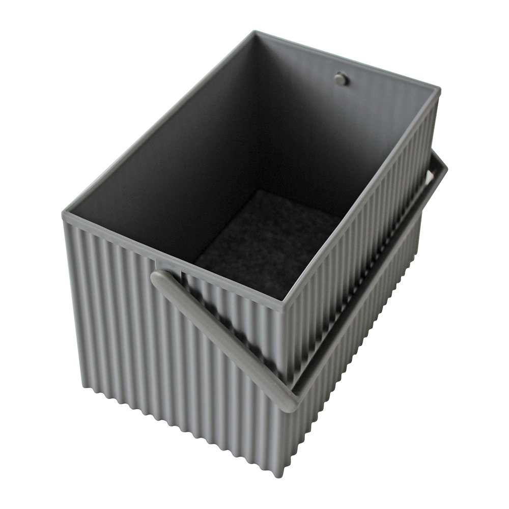 Hachiman - Omnioffre Carry Box with Handle  - Gray - Medium