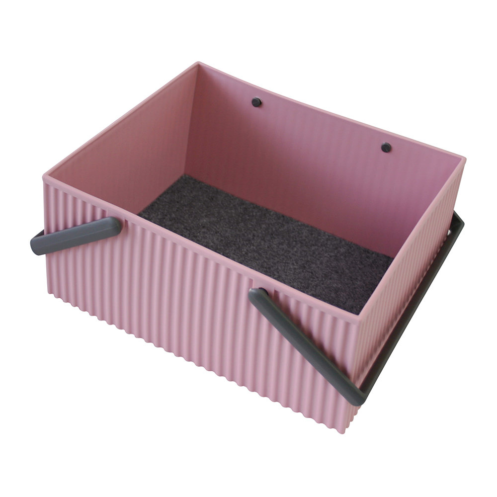 Hachiman - Omnioffre Carry Box with Handle  - Rose - Large