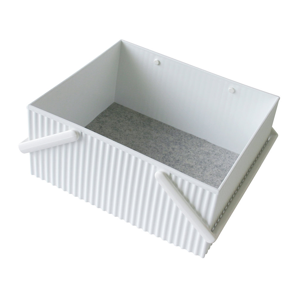 Hachiman - Omnioffre Carry Box with Handle  - White - Large