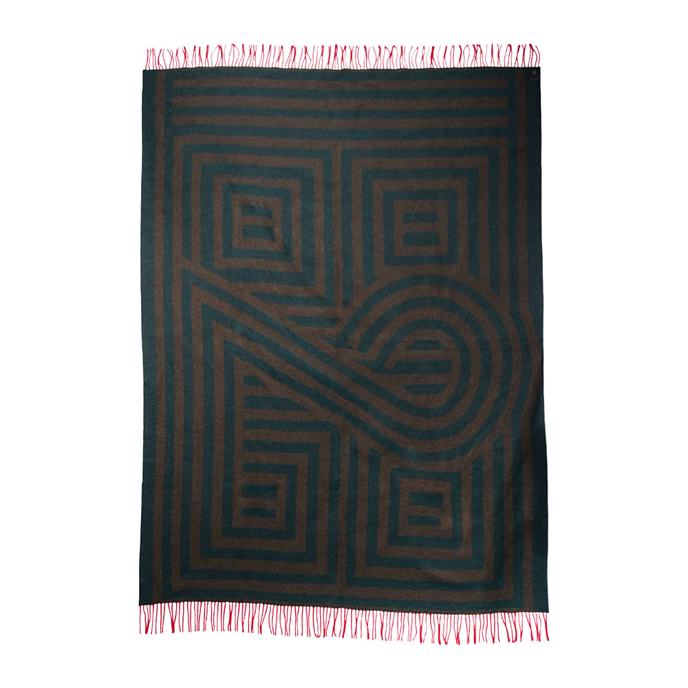 Zoeppritz since 1828 - 1828 Fringed Blanket - Forest