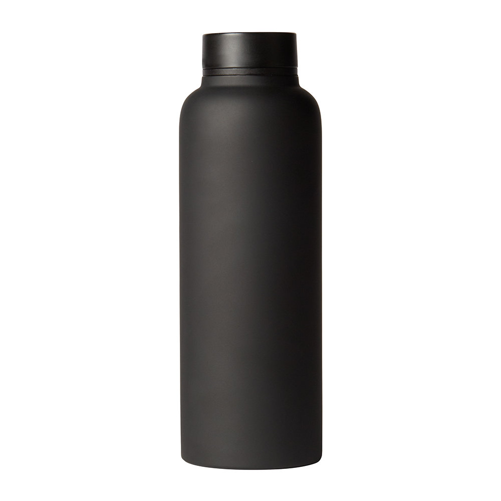 T2 - Stainless Steel Flask - Black