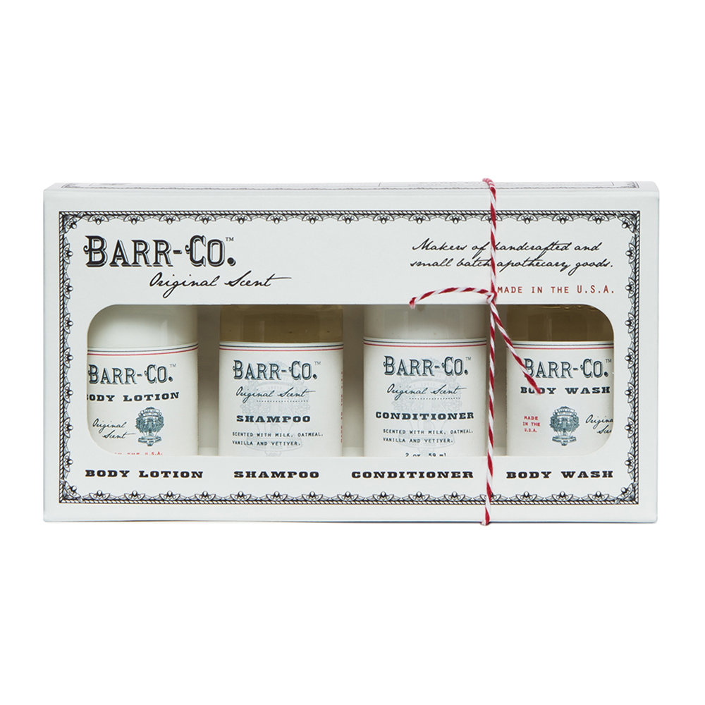 Barr-Co - Original Bath  Body Gift Set