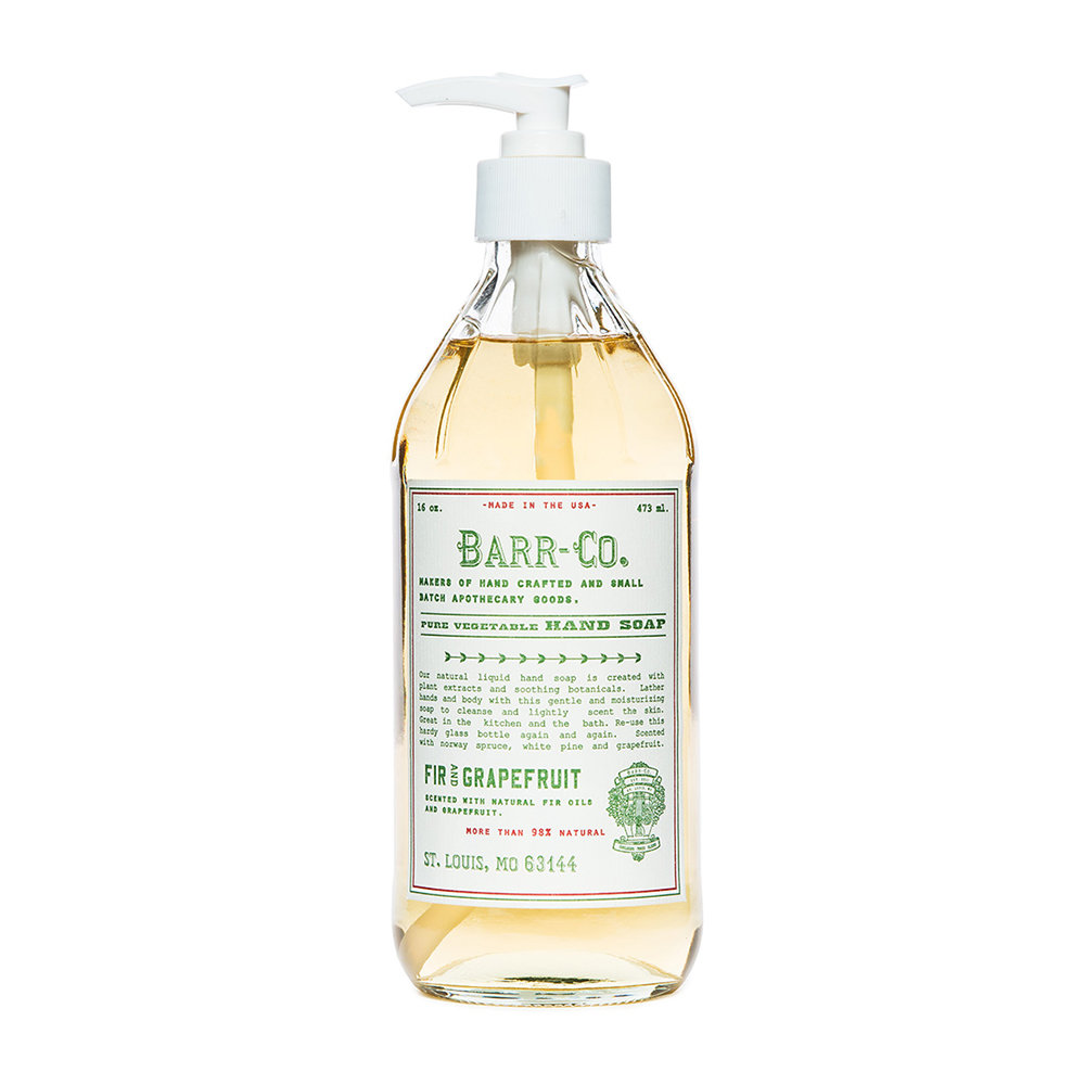 Barr-Co - Fir  Grapefruit Liquid Soap