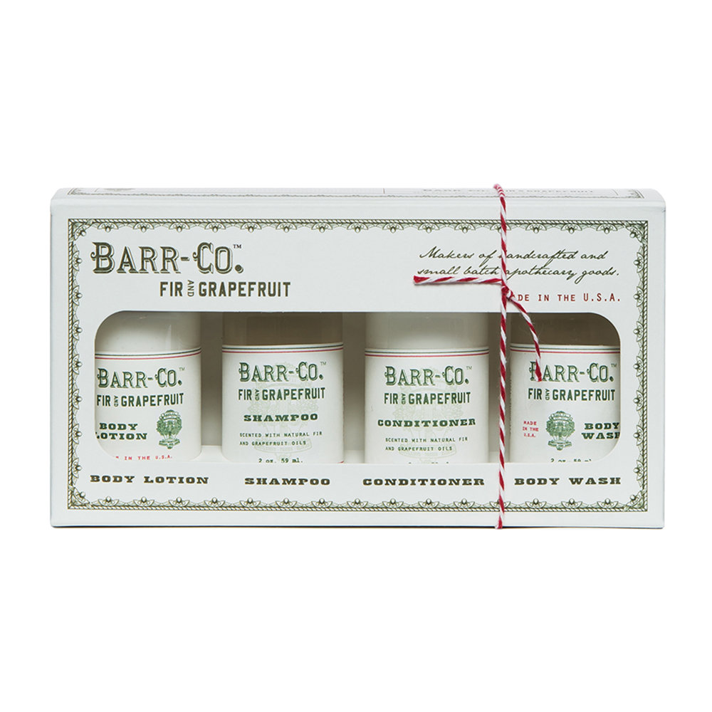 Barr-Co - Fir  Grapefruit Bath  Body Boxed Gift Set