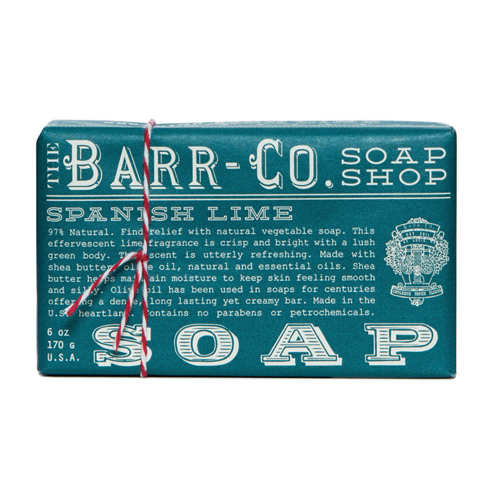 Barr-Co - Scented Soap Bar - Spanish Lime