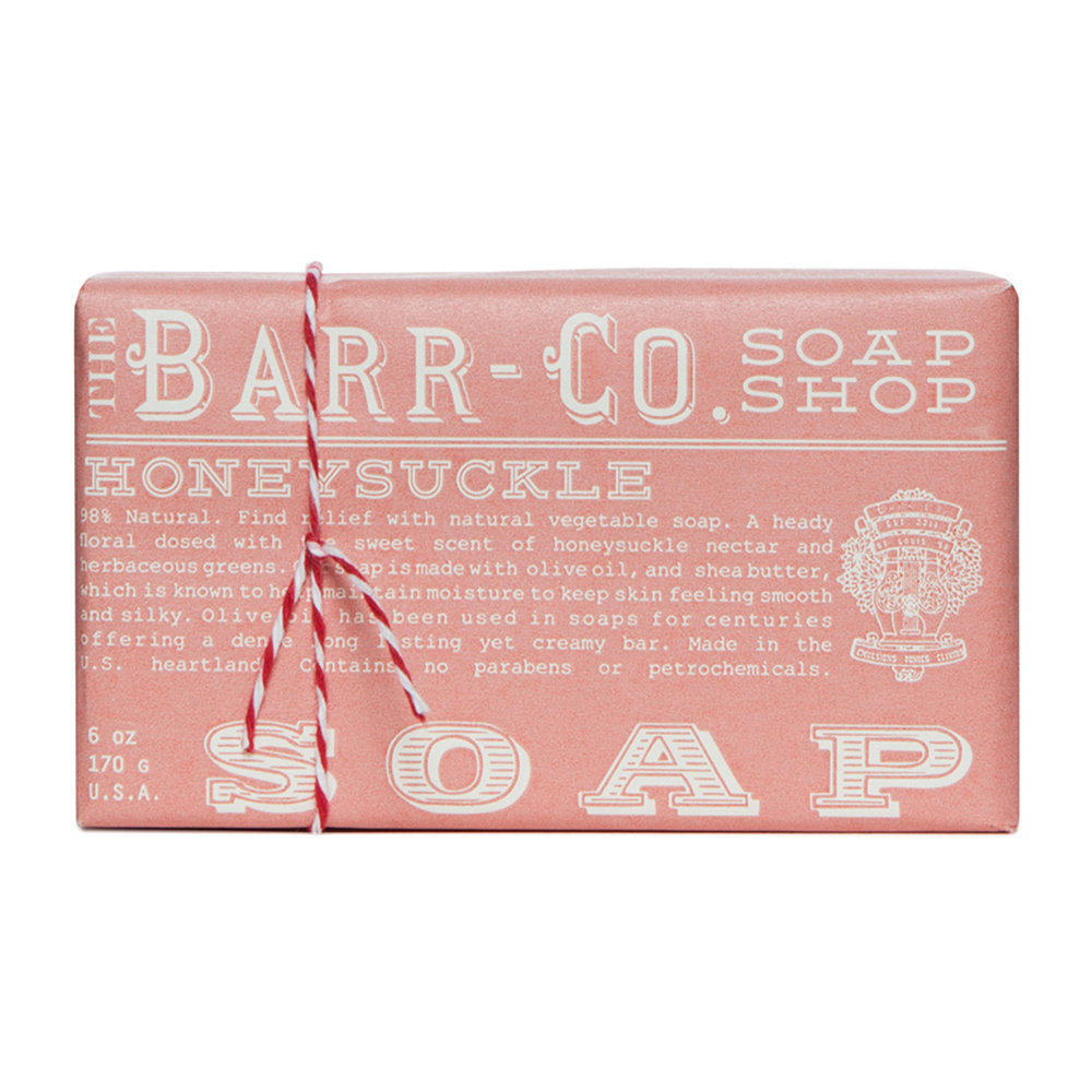 Barr-Co - Scented Soap Bar - Honeysuckle