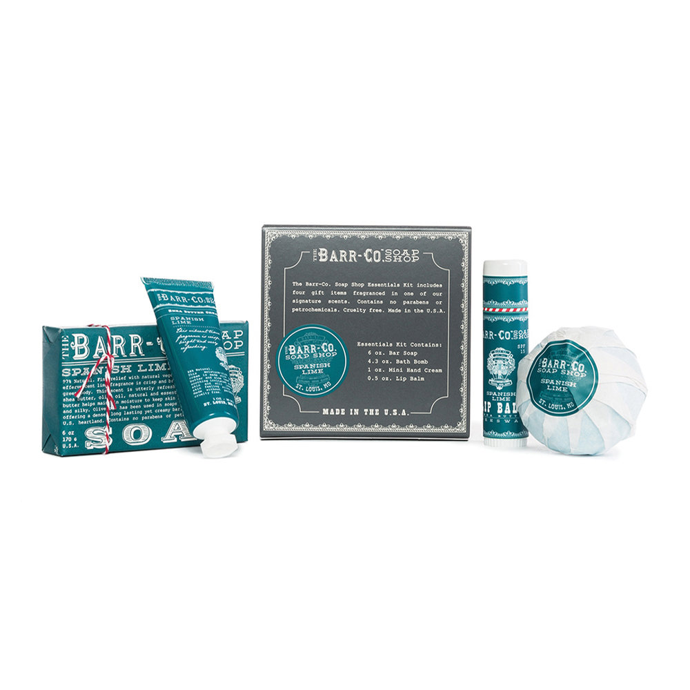 Barr-Co - 4 Piece Essentials Kit - Spanish Lime