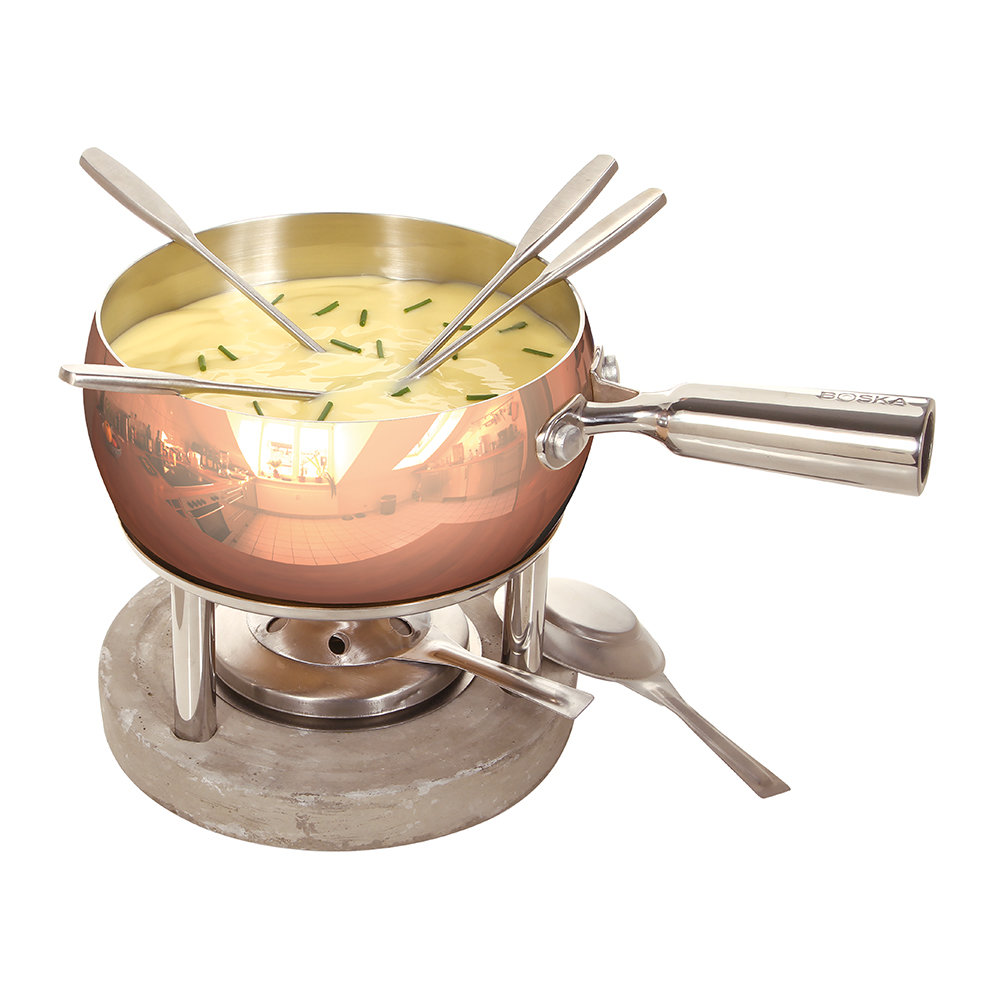 Boska - Copper Fondue Set