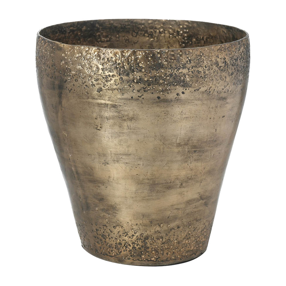Parlane - Antique Brass Planter - Small