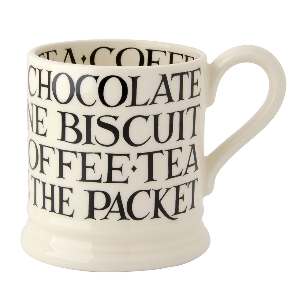 Emma Bridgewater - Black Toast Mug - Medium
