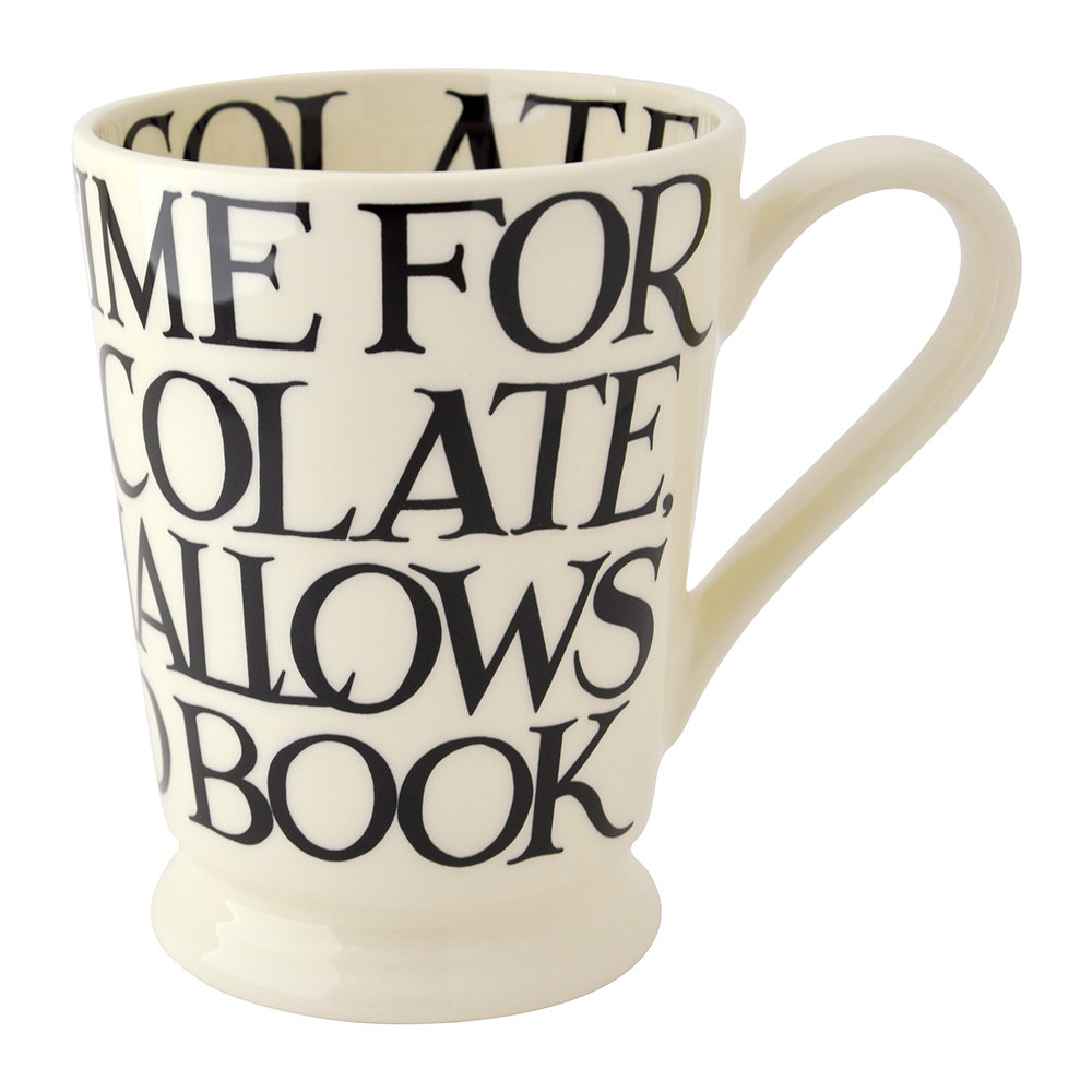 Emma Bridgewater - Black Toast Hot Chocolate Mug