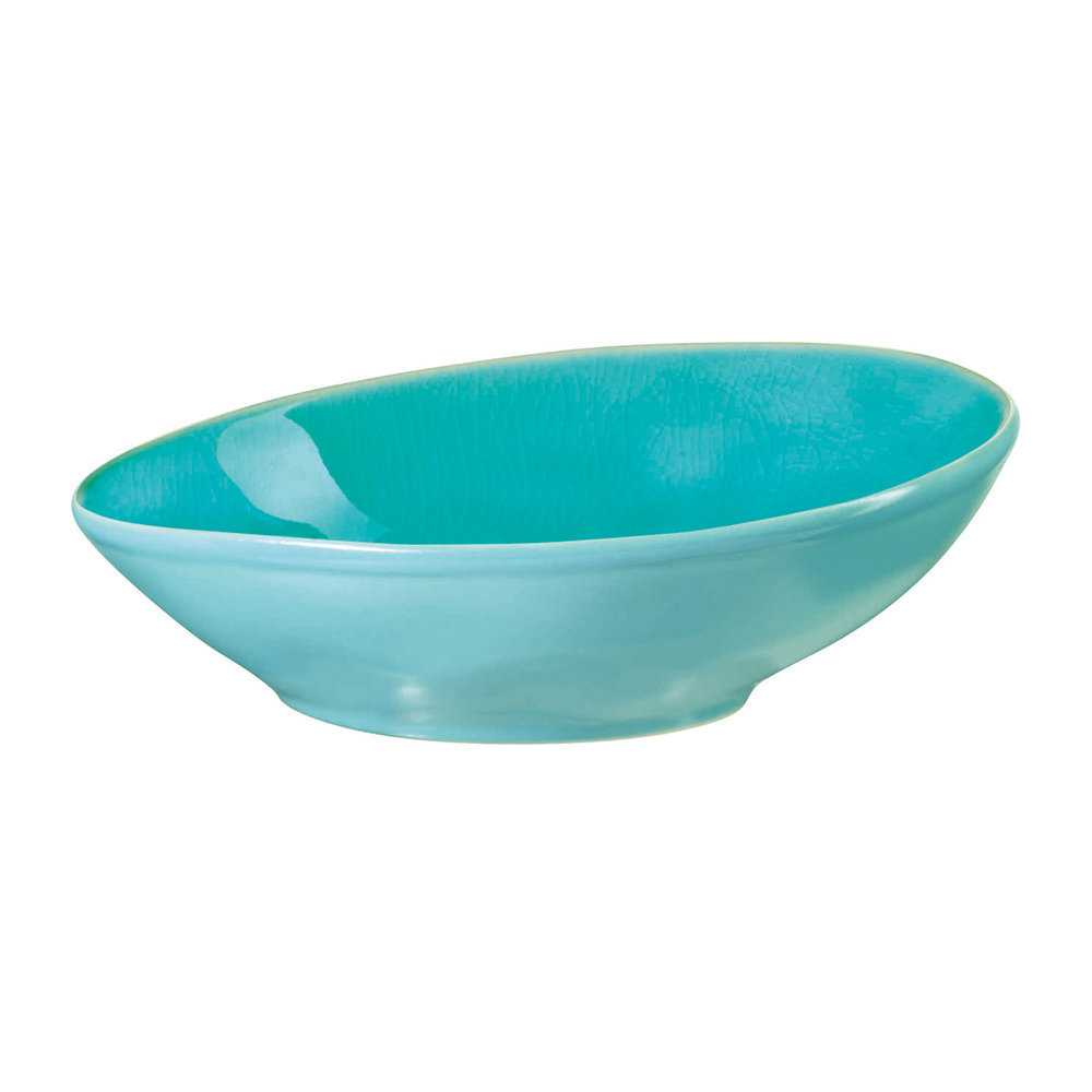 ASA - Beach Crackle Bowl - Turquoise - Salad Bowl