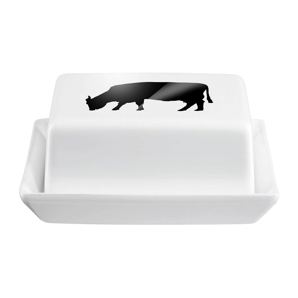 ASA Selection - Cow Butter Dish