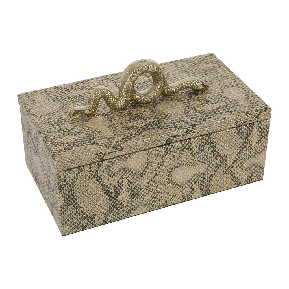 A by AMARA - Snake Box - Gold